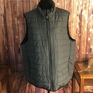 Men's Chaps Ralph Lauren Dark Gray puffer Vest